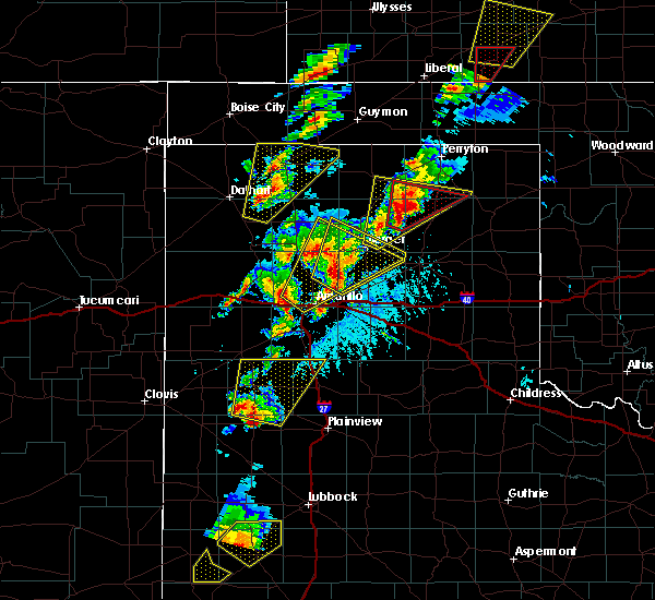 Radar Image for Severe Thunderstorms near Happy, TX at 5/23/2019 5:34 PM CDT