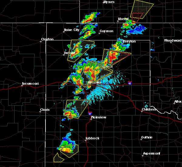 Radar Image for Severe Thunderstorms near Dimmitt, TX at 5/23/2019 5:34 PM CDT