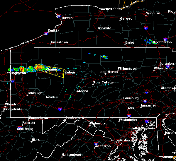 Radar Image for Severe Thunderstorms near Hasson Heights, PA at 5/23/2019 6:49 PM EDT