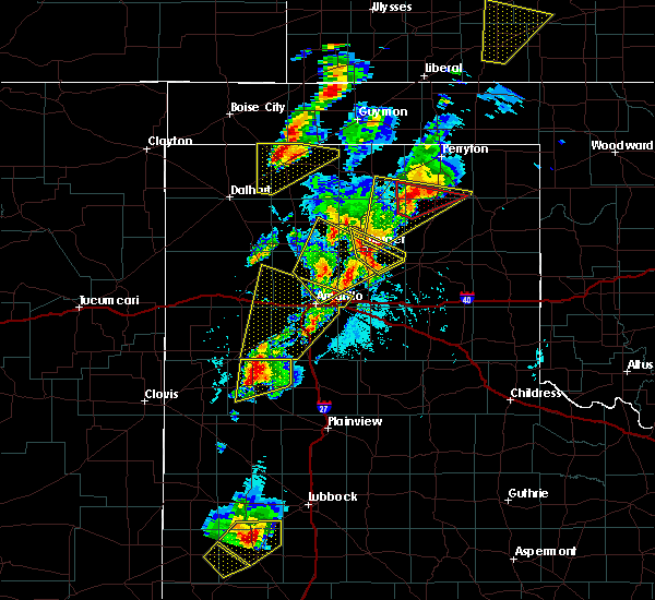 Radar Image for Severe Thunderstorms near Dimmitt, TX at 5/23/2019 5:49 PM CDT