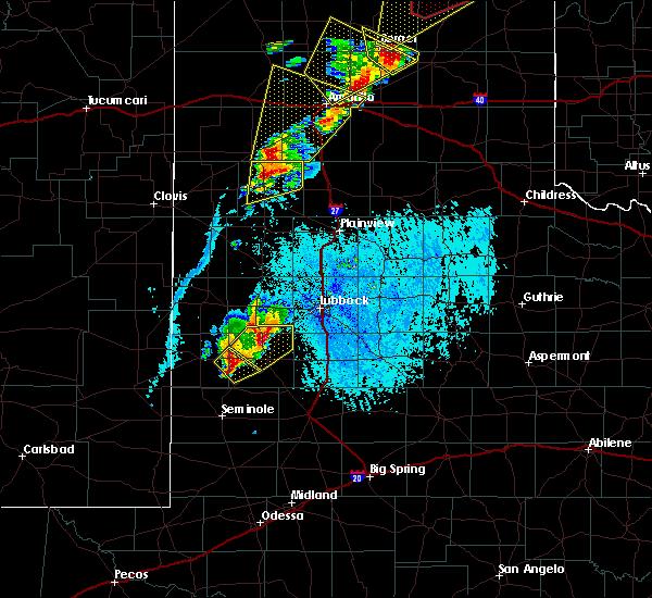 Radar Image for Severe Thunderstorms near Ropesville, TX at 5/23/2019 5:54 PM CDT