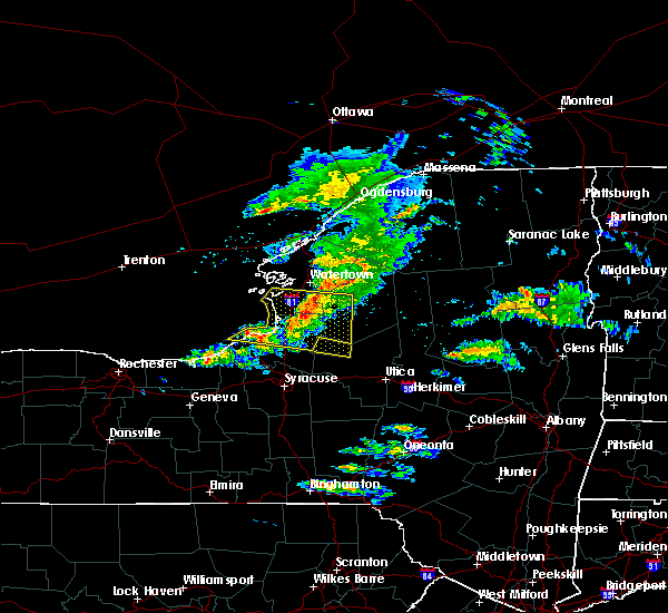 Radar Image for Severe Thunderstorms near Fair Haven, NY at 5/23/2019 7:22 PM EDT