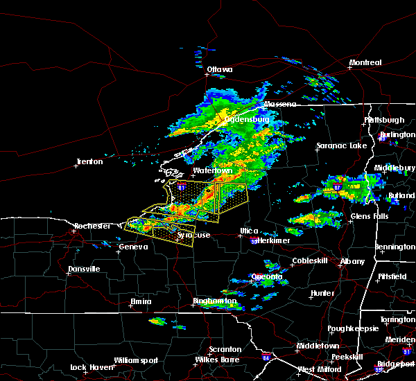 Radar Image for Severe Thunderstorms near Brewerton, NY at 5/23/2019 7:37 PM EDT