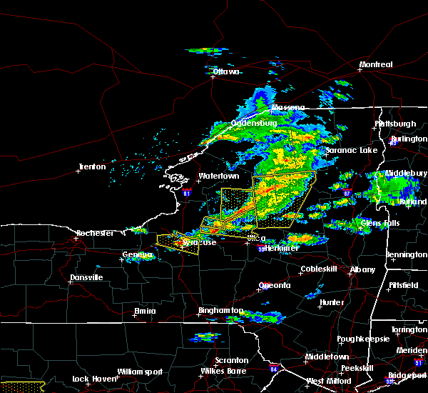 Radar Image for Severe Thunderstorms near Holland Patent, NY at 5/23/2019 8:00 PM EDT