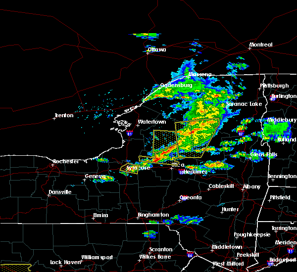 Radar Image for Severe Thunderstorms near Solvay, NY at 5/23/2019 8:04 PM EDT