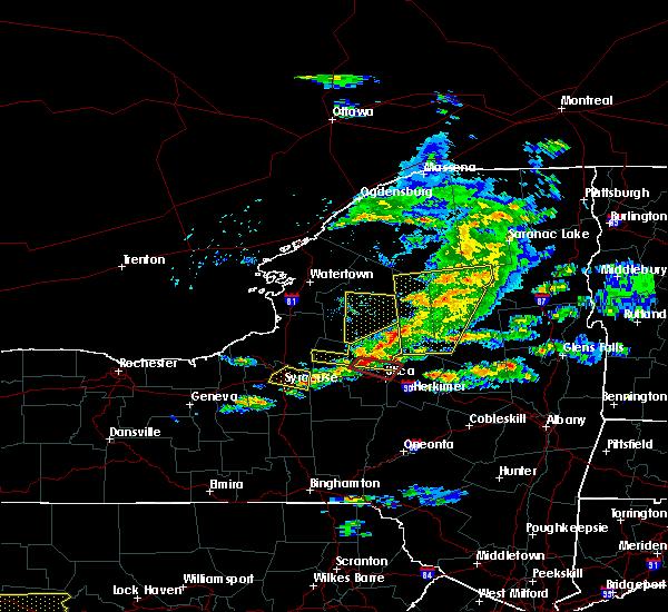 Radar Image for Severe Thunderstorms near Oriskany, NY at 5/23/2019 8:11 PM EDT