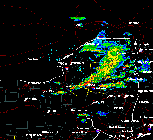 Radar Image for Severe Thunderstorms near Frankfort, NY at 5/23/2019 8:17 PM EDT