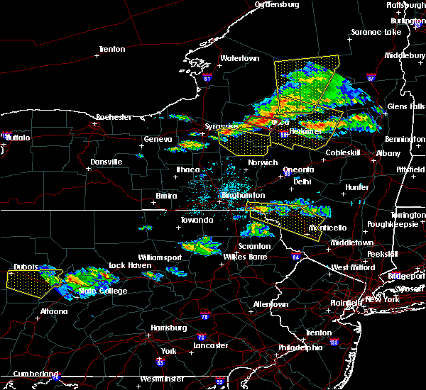 Radar Image for Severe Thunderstorms near Chadwicks, NY at 5/23/2019 8:22 PM EDT