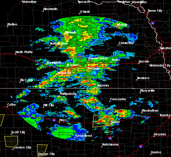 Radar Image for Severe Thunderstorms near Grand Island, NE at 5/23/2019 7:23 PM CDT