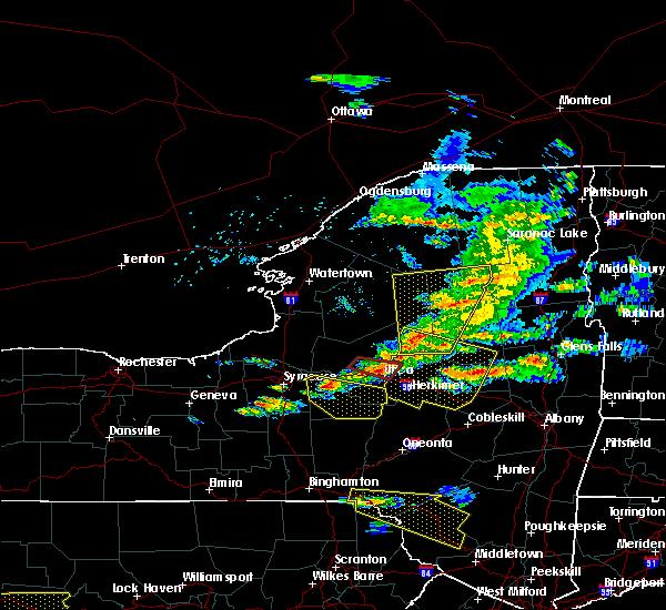 Radar Image for Severe Thunderstorms near Oriskany, NY at 5/23/2019 8:27 PM EDT