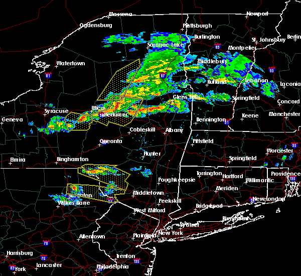 Radar Image for Severe Thunderstorms near Frankfort, NY at 5/23/2019 8:43 PM EDT