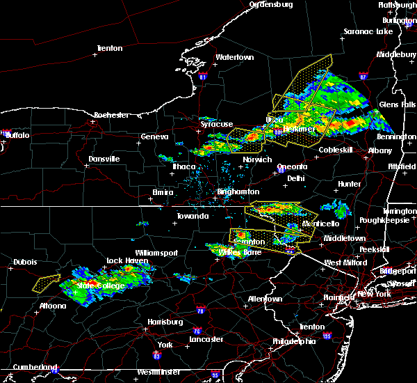 Radar Image for Severe Thunderstorms near Carbondale, PA at 5/23/2019 8:42 PM EDT