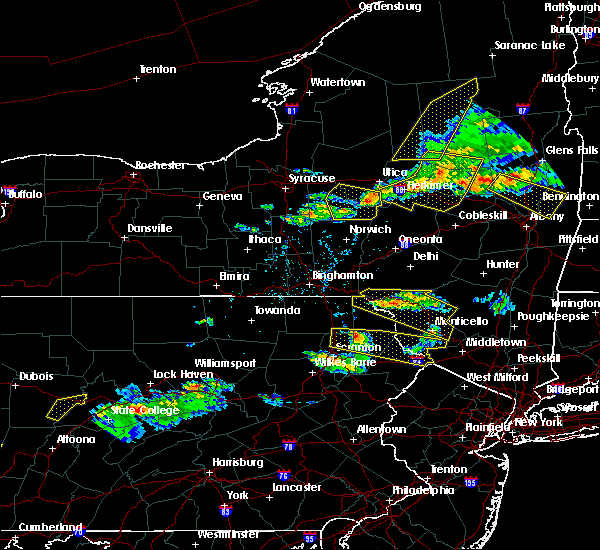 Radar Image for Severe Thunderstorms near Chadwicks, NY at 5/23/2019 8:48 PM EDT