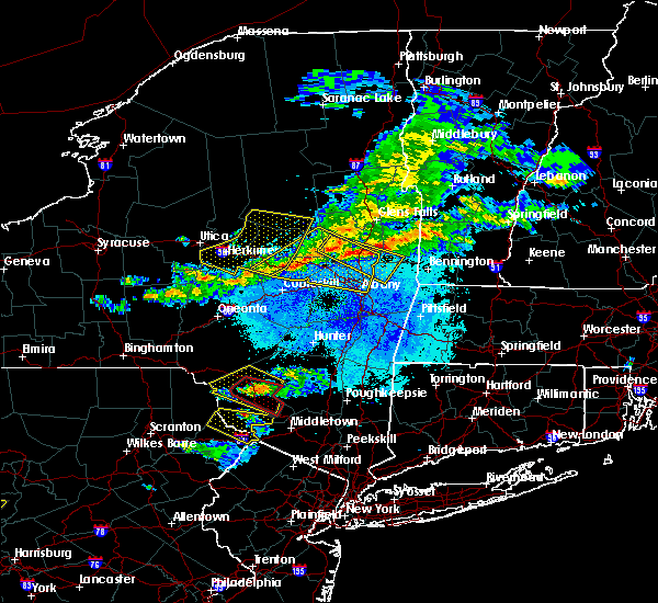 Radar Image for Severe Thunderstorms near Albany, NY at 5/23/2019 9:15 PM EDT