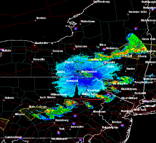 Radar Image for Severe Thunderstorms near Sugar Notch, PA at 5/23/2019 9:23 PM EDT
