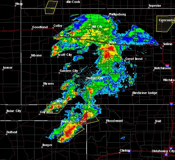 Radar Image for Severe Thunderstorms near Follett, TX at 5/23/2019 8:34 PM CDT