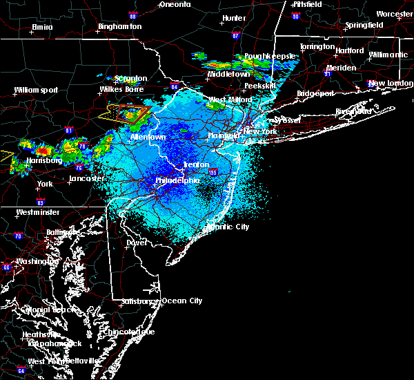 Radar Image for Severe Thunderstorms near Indian Mountain Lake, PA at 5/23/2019 10:04 PM EDT