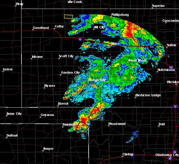 Radar Image for Severe Thunderstorms near Follett, TX at 5/23/2019 9:31 PM CDT