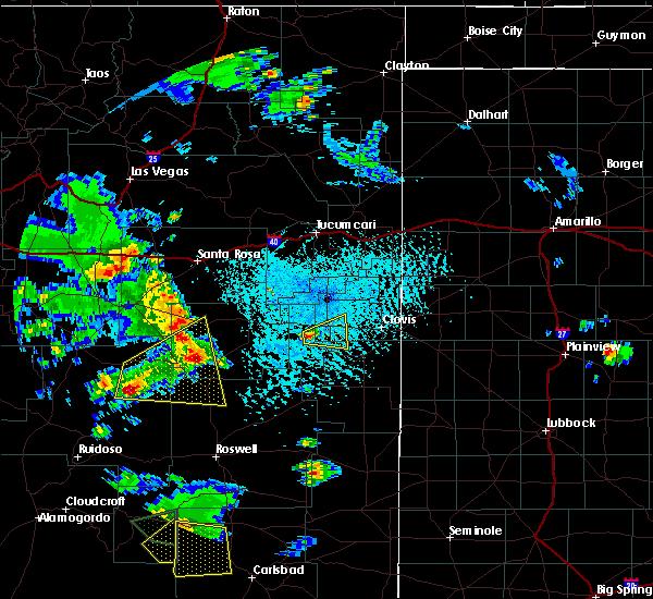 Radar Image for Severe Thunderstorms near Floyd, NM at 6/13/2015 3:22 PM MDT