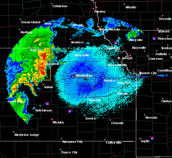 Radar Image for Severe Thunderstorms near Miltonvale, KS at 5/24/2019 2:56 AM CDT