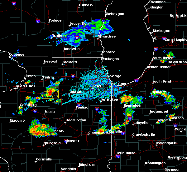 Radar Image for Severe Thunderstorms near Ottawa, IL at 6/13/2015 4:35 PM CDT