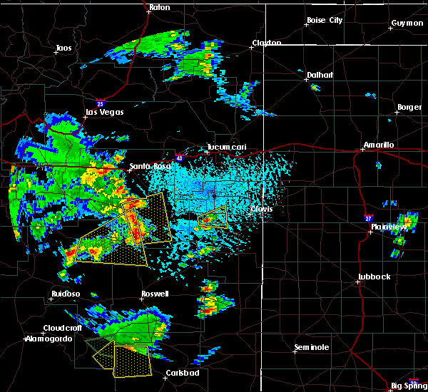 Radar Image for Severe Thunderstorms near Floyd, NM at 6/13/2015 3:35 PM MDT