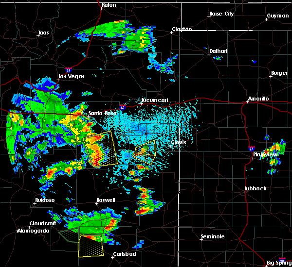 Radar Image for Severe Thunderstorms near Floyd, NM at 6/13/2015 3:49 PM MDT