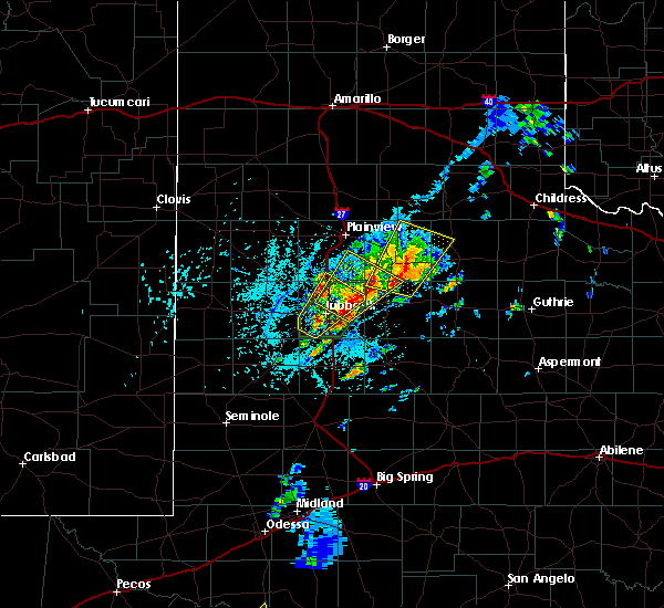 Radar Image for Severe Thunderstorms near Floydada, TX at 5/24/2019 2:45 PM CDT