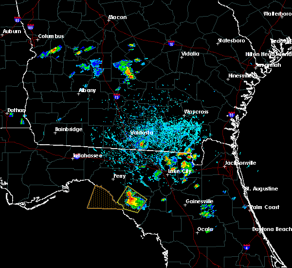 Radar Image for Severe Thunderstorms near Statenville, GA at 6/13/2015 5:50 PM EDT