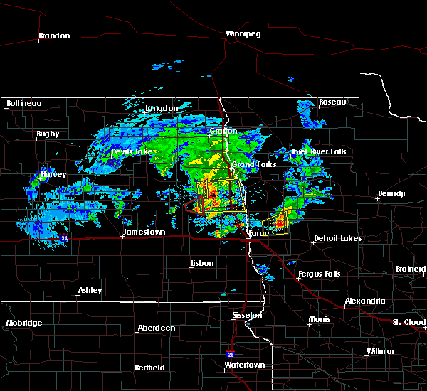 Radar Image for Severe Thunderstorms near Twin Valley, MN at 5/24/2019 7:00 PM CDT