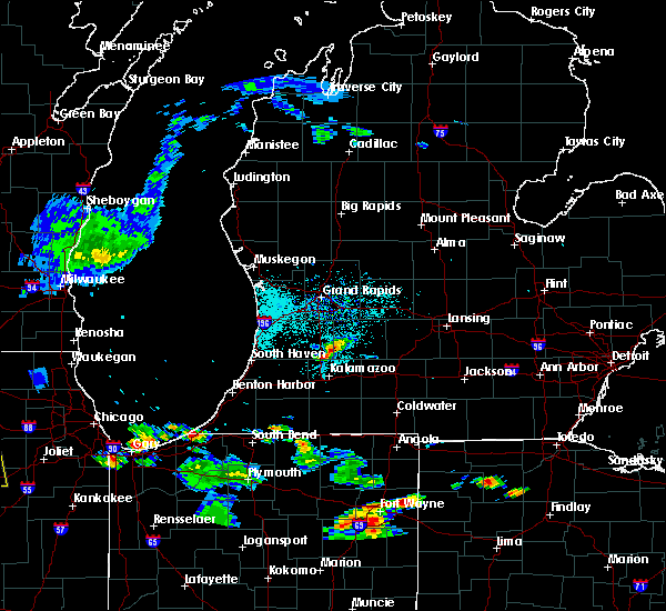 Radar Image for Severe Thunderstorms near Dowling, MI at 6/13/2015 6:28 PM EDT
