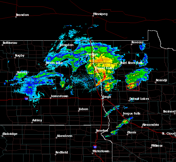 Radar Image for Severe Thunderstorms near Twin Lakes, MN at 5/24/2019 7:47 PM CDT