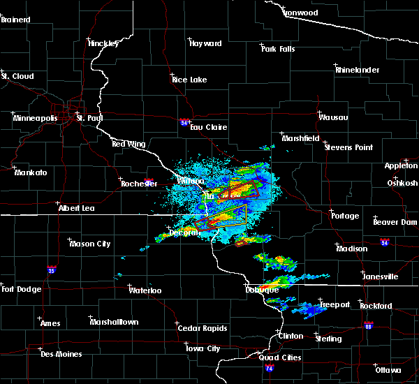 Radar Image for Severe Thunderstorms near St. Joseph, WI at 5/24/2019 9:11 PM CDT