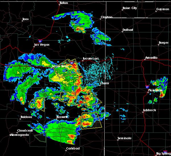 Radar Image for Severe Thunderstorms near Floyd, NM at 6/13/2015 4:51 PM MDT