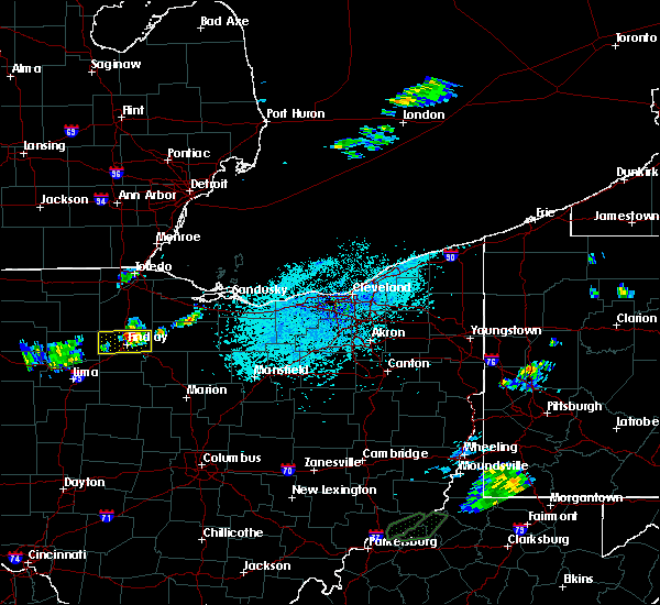 Radar Image for Severe Thunderstorms near Findlay, OH at 5/25/2019 1:45 PM EDT