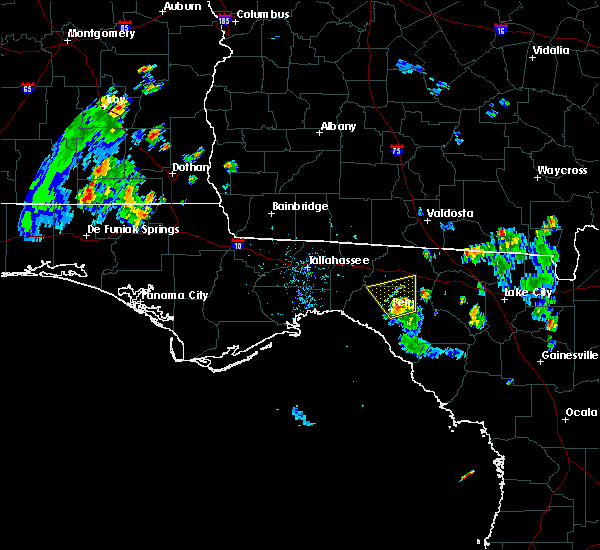 Radar Image for Severe Thunderstorms near Perry, FL at 6/13/2015 7:02 PM EDT