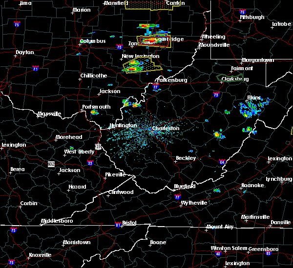 Radar Image for Severe Thunderstorms near Chesterhill, OH at 5/25/2019 4:20 PM EDT