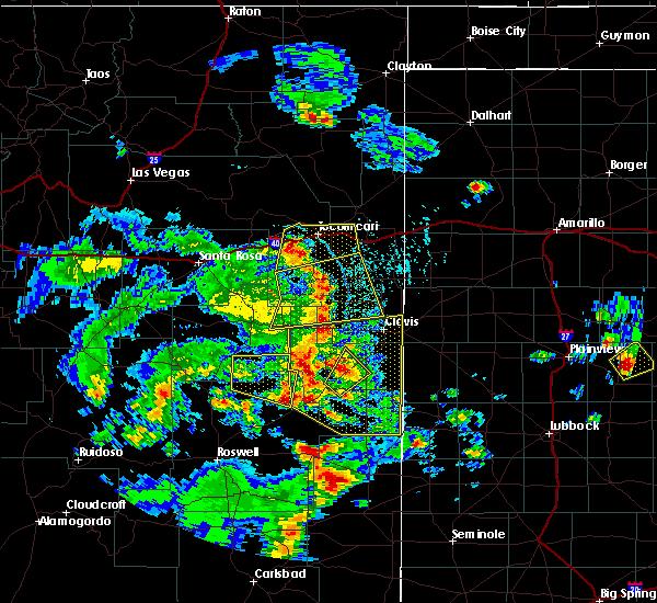 Radar Image for Severe Thunderstorms near Floyd, NM at 6/13/2015 5:10 PM MDT