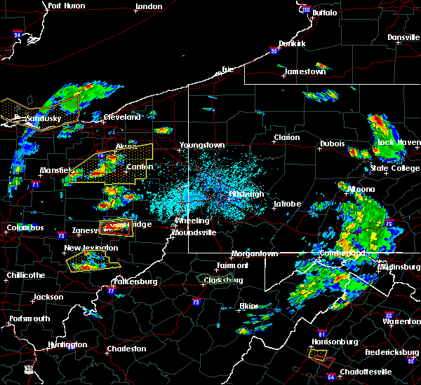 Radar Image for Severe Thunderstorms near Tuscarawas, OH at 5/25/2019 4:34 PM EDT