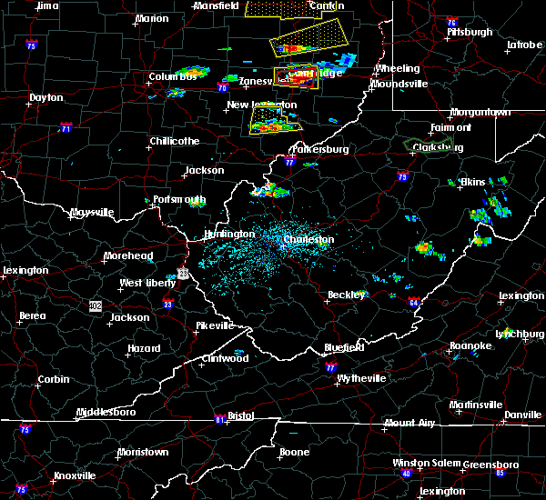 Radar Image for Severe Thunderstorms near Chesterhill, OH at 5/25/2019 4:44 PM EDT