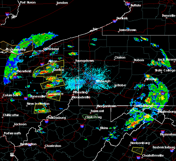 Radar Image for Severe Thunderstorms near Tuscarawas, OH at 5/25/2019 4:49 PM EDT