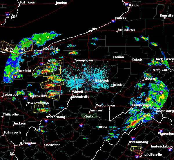 Radar Image for Severe Thunderstorms near Tuscarawas, OH at 5/25/2019 4:55 PM EDT