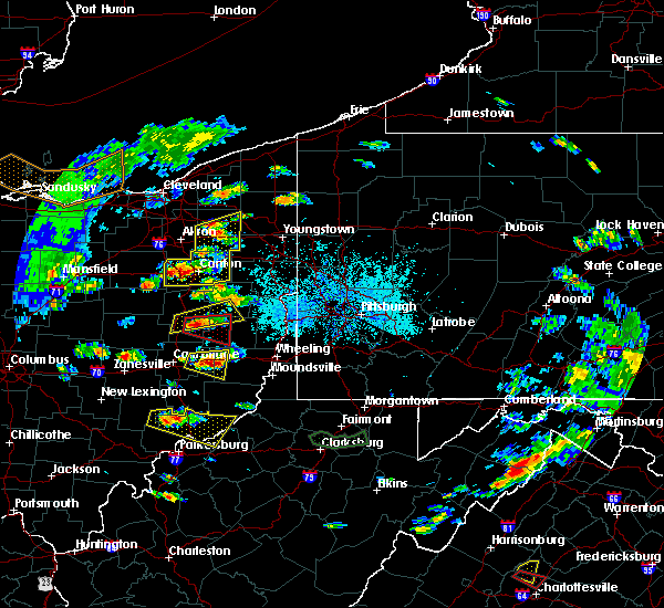 Radar Image for Severe Thunderstorms near Tuscarawas, OH at 5/25/2019 5:05 PM EDT