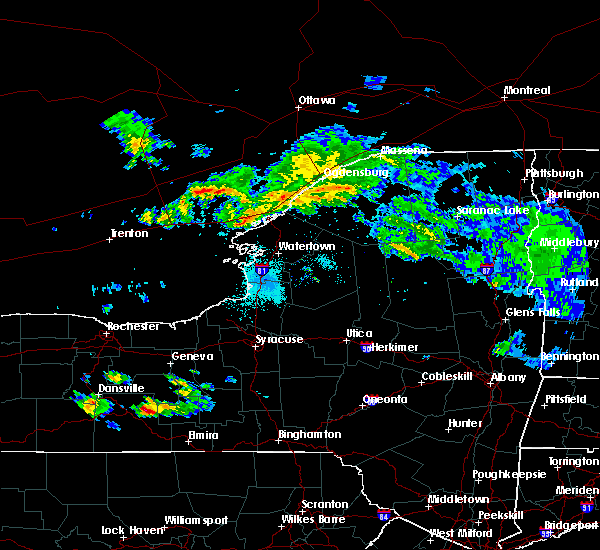 Radar Image for Severe Thunderstorms near Oxbow, NY at 5/25/2019 5:27 PM EDT