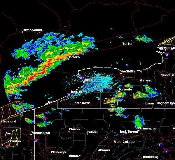 Radar Image for Severe Thunderstorms near Belfast, NY at 5/25/2019 5:31 PM EDT