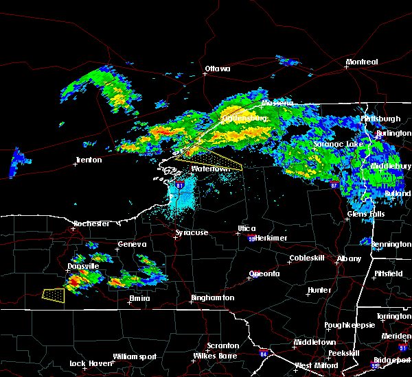 Radar Image for Severe Thunderstorms near Oxbow, NY at 5/25/2019 5:47 PM EDT