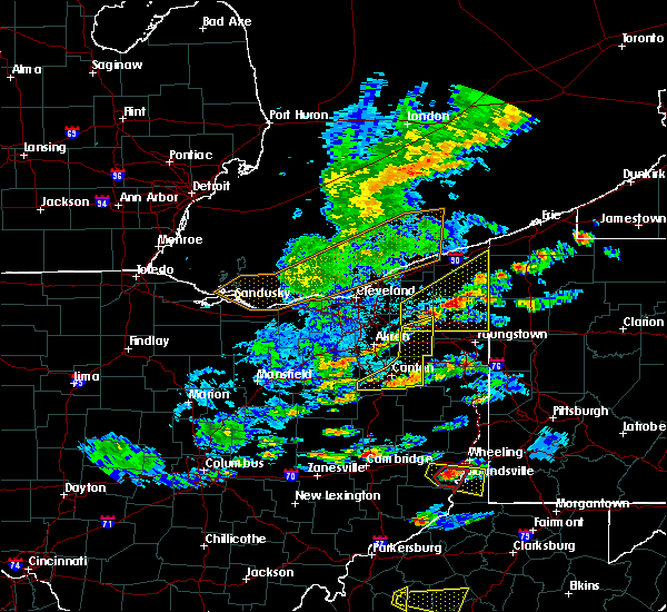 Radar Image for Severe Thunderstorms near Girard, OH at 5/25/2019 5:50 PM EDT