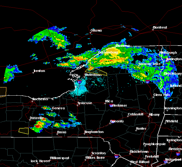 Radar Image for Severe Thunderstorms near Oxbow, NY at 5/25/2019 6:02 PM EDT