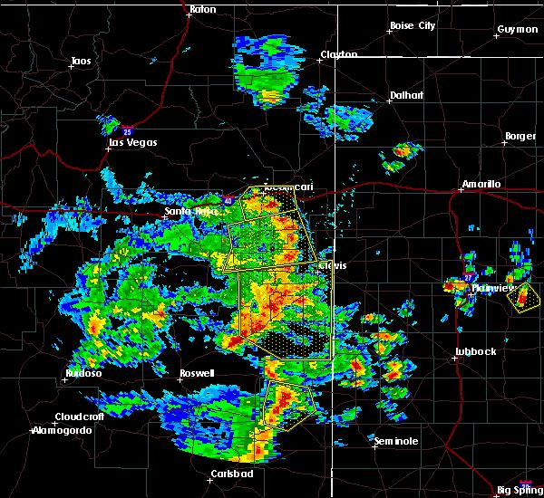 Radar Image for Severe Thunderstorms near Clovis, NM at 6/13/2015 5:25 PM MDT