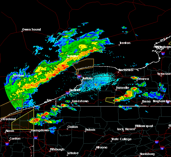 Radar Image for Severe Thunderstorms near Scio, NY at 5/25/2019 6:10 PM EDT